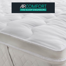 Mattress Topper/Protector Super Soft Temperature Control Microfiber Air-Flow
