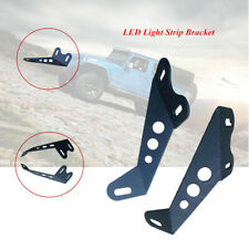 2PCS/set Off-road Vehicle Roof LED Light Strip Upper Bar Mounting Bracket Kit