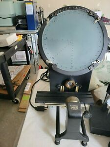 """Optical comparator Fowler excellent working condition 12 inch 12"""""""