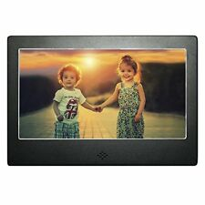 "7"" Digital Photo Frame Black Matte High Resolution DIGIFLEX"