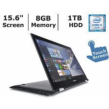 "Lenovo Edge 2 15.6"" Full HD IPS 2in1 Touch Laptop Core i7 8GB RAM 1TB 80QF0006US"