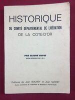 Comité départemental de Libération Cote d'or Guyot Bouhey Mairey Résistance