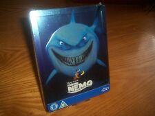 FINDING NEMO Disney Pixar Bluray steelbook rare OOP Zavvi region abc(worldwide)