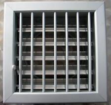 Bocchetta per ventilazione griglia aria camini in alluminio cm 18x18 diam.12