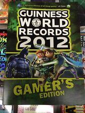 BRAND NEW! Guinness World Records 2012 GAMER'S EDITION - Paperback