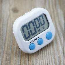 Digital Kitchen Cooking Large LCD Timer Count Down Up Clock Alarm Magnetic New