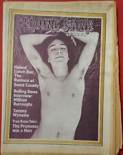 ♫ DAVID CASSIDY Ultra Rare Rolling Stone 1972 Naked Lunch Box article/poster  ♫