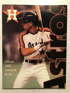 1992 HOUSTON ASTROS Yearbook JEFF BAGWELL Ken CAMINITI Craig BIGGIO Steve FINLEY
