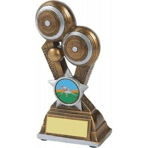 145mm Lawn Bowls Award (RRP £8.95) with free engraving and postage