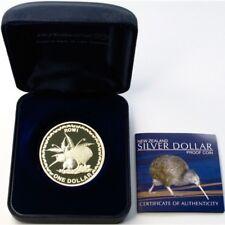 New Zealand Kiwi - 2005 - Silver $1 Proof Coin- 1 OZ Kiwi Rowi!! RARE