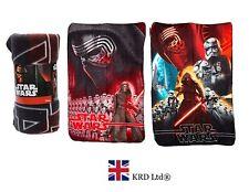 STAR WARS FORCE AWAKENS FLEECE Kids Warm Blanket 100 x 140cm Christmas Gift NEW