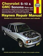 Reparaturanleitung Chevrolet S-10 & Blazer 4.3 95 - 04