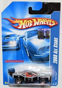Hot Wheels 2008 Tout Stars Rouleau Cage Gris Usine Scellé