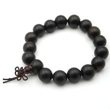 12mm Rose Wood Sandalwood Tibet Buddhist Prayer Beads Mala Bracelet