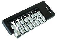 LASER 7035 Universal Joint UJ Socket Set 8pc 3/8 DRIVE