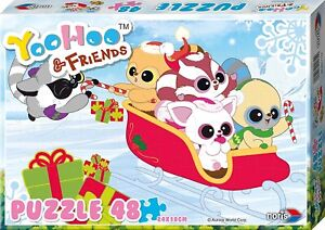 NORI606031130 - Puzzle Of Drawing Animated Yoohoo And Friends Age 3 To Snow 48