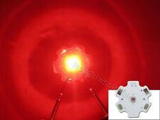 10x 1W-3W Cree XB-D XBD Red 620nm LED Chip Light Bulbs 20MM