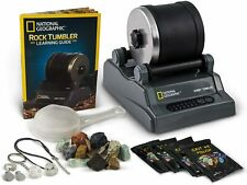 National Geographic Hobby Rock Tumbler Kit Gemstone Tumbling Machine STEM