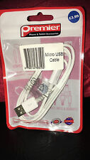 Genuine Original LG G4 G3 G G2 High Speed Micro USB Charger Lead Cable White