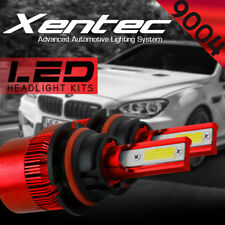 XENTEC LED HID Headlight kit 9004 HB1 6000K for 1986-1992 Toyota Corolla