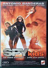 DVD Spy Kids de vrais espions... juste plus petits (Antonio Banderas)