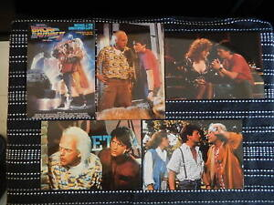 New Old stock Advertising Postcard, Back to the Future 11, (5 Cards), VGC 1990s