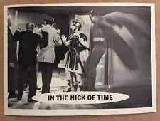 SUPERMAN 1966 TOPPS FIGURINA #31 EX+ CONDIZIONE DC COMICS LIBRO NICK OF TIME