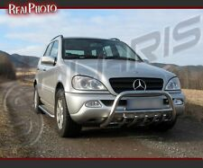 MERCEDES ML 2002-2005 BULL BAR, NUDGE BAR, A BAR + GRATIS!!! STAINLESS STEEL