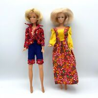 Vintage 1980 / 1977 Stamped Mego Corp Candi Dolls Blonde Barbie Clone Hong Kong