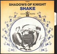 SHADOWS OF KNIGHT - Shake - 1969 France SP 45 tours