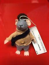 Cloth Mouse Christmas Ornament