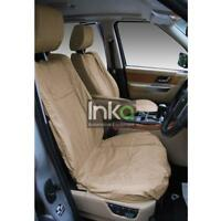 Range Rover Sport L494 Front Inka Tailored Waterproof Seat Covers Beige MY13-16