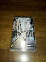 (What's The Story) Morning Glory ? Oasis Cassette Tape 1995 Light Wear On Case