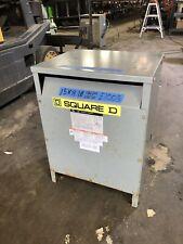 Square D 15kva Single Phase Transformer 480240 To 240120 Tested Guaranteed