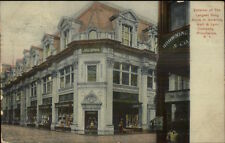 Providence RI Largest Drug Store in American c1910 Postcard