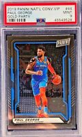 Paul George 2019 Panini The National VIP Gold Pack Party PSA 9 Mint