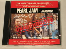PEARL JAM - CD - DAUGHTER - LIVE - RARE AUSSIE CD