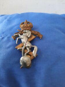 Vintage Brass Reme Cap Badge