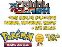 Pokemon TCG Primal Clash /160 Card Selection: Common, Uncommon, Rare + Rev Holos
