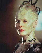 STAR TREK ALICE KRIGE The Queen Borg # 2 hand signed