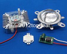 10W Royal blue 440-450nm High Power LED+10W Driver+44mm Lens+10w Heatsink kit