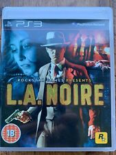 L.A. Noire PS3 Juego Para Sony PlayStation 3 Rockstar Gangster Classic