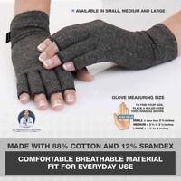 Useful 1pair Arthritis Gloves Joint Finger Brace Hand Wrist Support Pain Relief