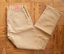 Levi's Vintage Clothing Big E Red Tab 519 Bedford Pants Jeans 33 x 34 Beige