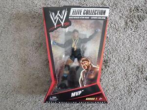 WWE Mattel Elite Series 1 MVP figure MOC 2010 in package