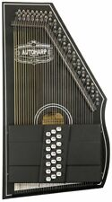 Oscar Schmidt OS73CE 1930's Reissue 21 Chord Autoharp with Pickup - Black