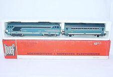 Jouef HO SNCF French BB 67001 DIESEL LOCOMOTIVE + HEATING WAGON 8412 MIB`76 RARE
