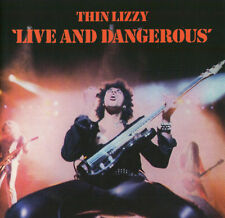 THIN LIZZY - LIVE AND DANGEROUS CD (1978) PHIL LYNOTT / ROCK-KLASSIKER