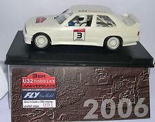 FLY SLOT VOITURE BMW M3 E30 III ANNIVERSAIRE U32 2006 EDITION LIMITÉE 200UNITS