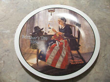 Norman Rockwell Mother's Day Plates...set of 3...1980..1981...1982